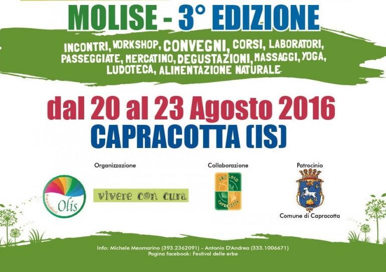 3^ edizione del Festival delle erbe a Capracotta