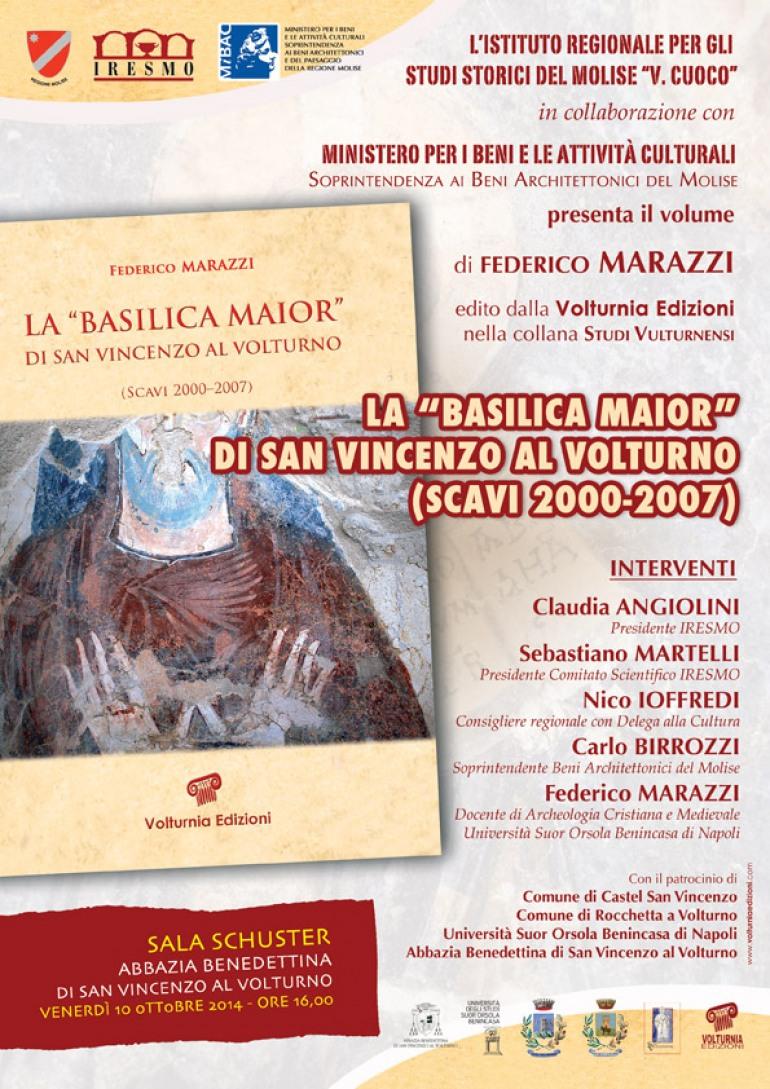 La Basilica Maior di San Vincenzo al Volturno diventa un libro