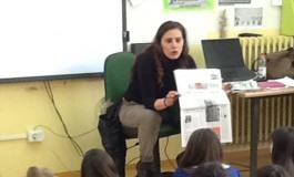 """""""Reporter in classe"""": con Loretta Montenero dentro la notizia"""