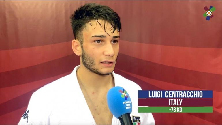 """Luigi Centracchio premiato """"Atleta dell'Anno"""", il judoka gareggia per le Fiamme Oro"""
