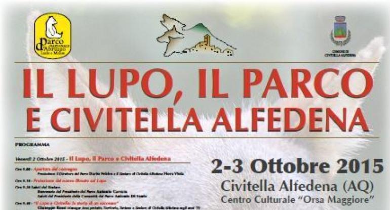 Pnalm, convegno: il lupo, il Parco e Civitella Alfedena