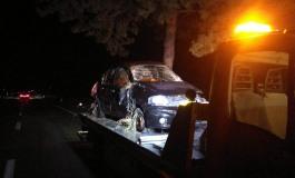 Distrugge l'automobile per evitare un cervo e finisce in ospedale, incidente sul Piano delle Cinquemiglia