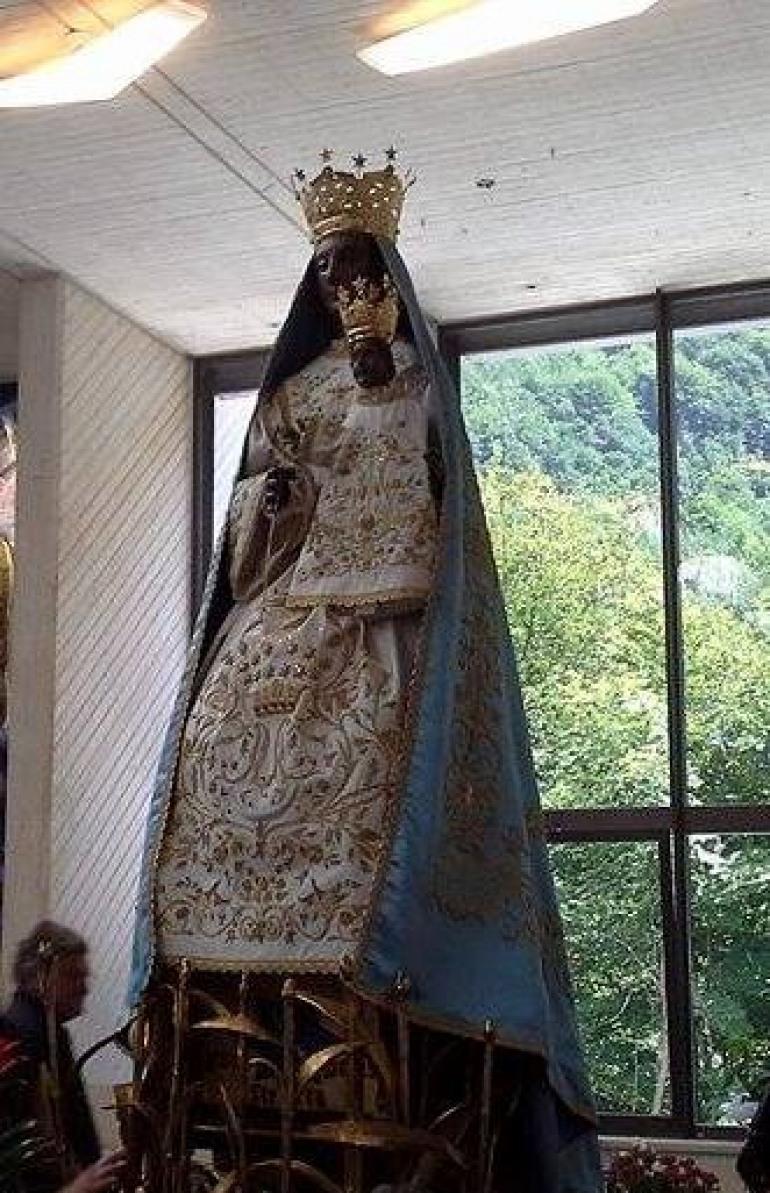 La Madonna di Canneto forse in Altosangro
