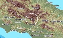 Scosse di terremoto in Alto Molise e sulle Mainarde