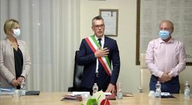Ateleta: Giuramento del sindaco Marco Passalacqua, insediata la nuova amministrazione