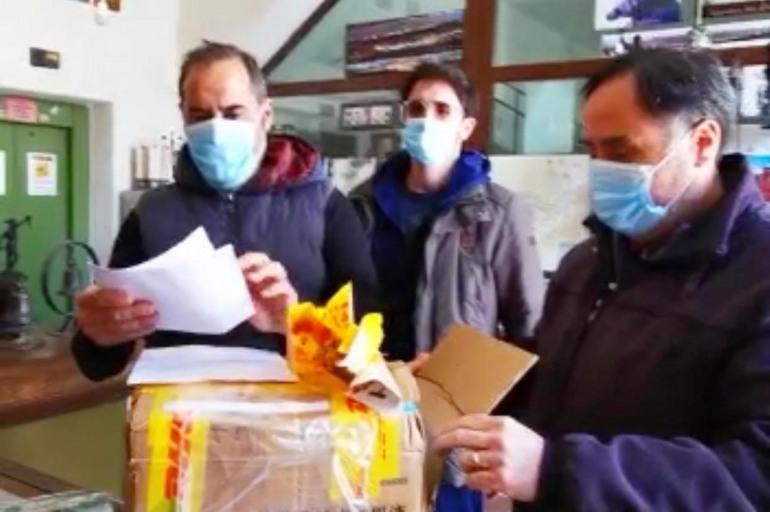 Agnone, dalla Cina mascherine in dono alla Pontificia Fonderia Marinelli