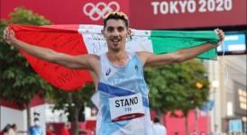 Roccaraso, le medaglie d'oro Stano e Palmisano in piazza Leone