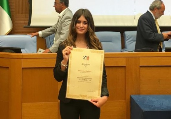 Rettifica - Master in global marketing, comunicazione & made in Italy - Francesca Labanca