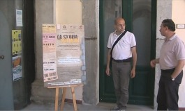 """Agnone, """"Storia sui muri"""". Intervista a Nicola Mastronardi."""