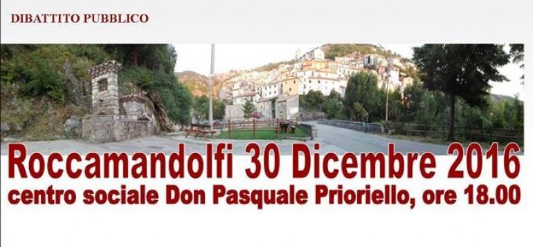 'Vivere il presente immaginando il futuro', dibattito a Roccamandolfi organizzato dalla Pro Loco