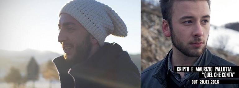 """Il 20 gennaio esce """"Quel che conta"""", videoclip di Kripto e Maurizio Pallotta"""
