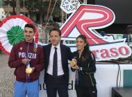 Le medaglie d'oro olimpiche a Roccaraso, i Giganti della marcia onorano la città