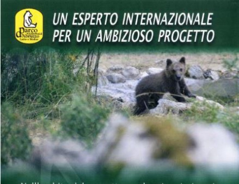 """John Beecham a Pescasseroli il 9 agosto:  focus sul progetto """"orsetta Morena"""""""