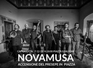 Concerto dei Novamusa a Capracotta, sabato 7 dicembre