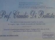 Roccaraso, domani i funerali di Claudio Di Battista