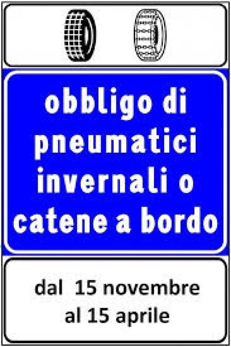 Abruzzo e Molise, ecco le strade dove c'è l'obbligo dei pneumatici da neve o catene a bordo