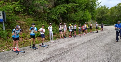 """Opi, 10 atleti al raduno del Comitato Abruzzese Sci di Fondo. Arturo Como: """"Sono in grande forma e più determinati di prima"""""""