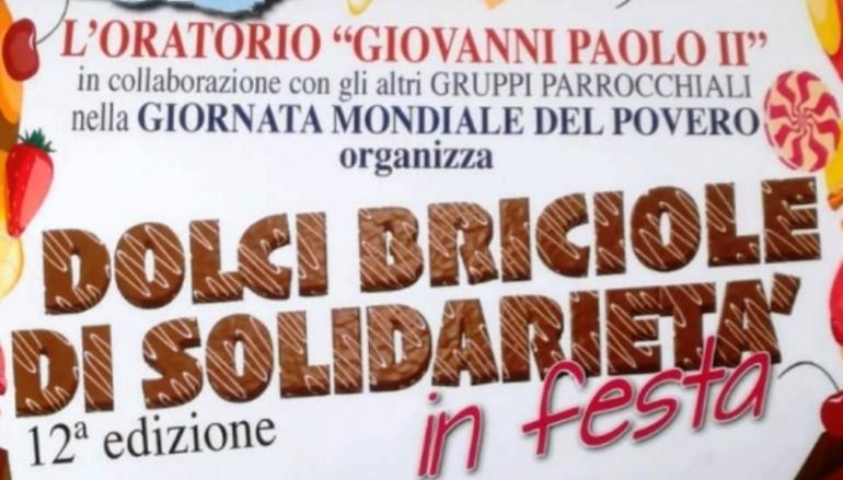 'Dolci briciole di solidarietà', iniziativa dell'oratorio Giovanni Paolo II