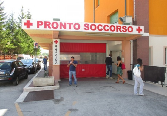 Asl 1, il manager Testa in visita all'ospedale di Castel di Sangro
