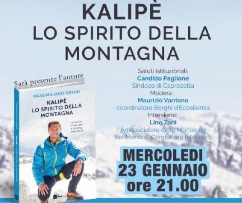 """Arriva 'Linea Bianca' a Capracotta, il conduttore Massimiliano Ossini presenterà il libro """"Kalipè"""""""