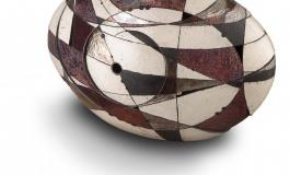 Roma, le ceramiche Raku di Simone Zaccarella al museo fondazione Crocetti