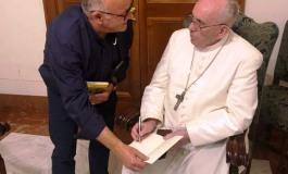 Roma, Don Alberto Conti è  stato ricevuto da papa Francesco