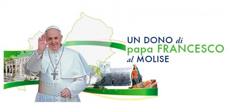Tutte le tappe della visita di Papa Francesco in Molise. Stilato il programma ufficiale