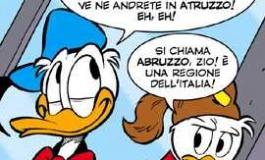 Paperino festeggia 80 anni con una vacanza nel Parco Nazionale d'Abruzzo