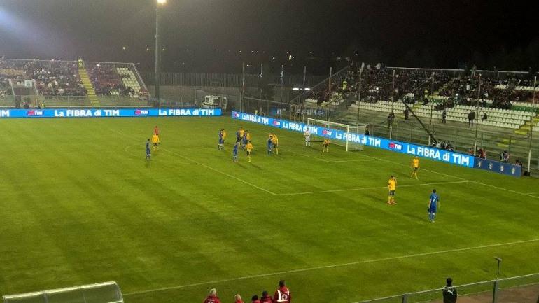 Castel di Sangro, Italia – Lituania 2 – 0 (1° tempo)
