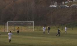 Real Carceres vince in nove contro la New Cales, finale 1-0