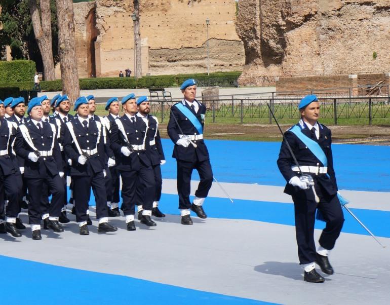Sulmona, il 172° corso presente al bicentenario della scuola di polizia penitenziaria
