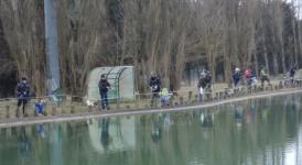 Pescasportiva - domenica la gara dei 'pierini' sul laghetto di Castel di Sangro
