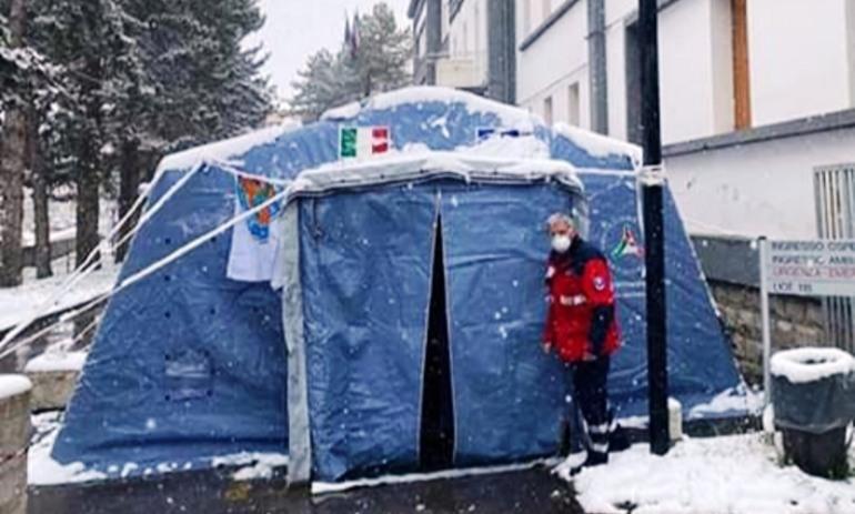 Protezione Civile di Agnone, impegno incessante a 360° dei volontari coordinati da Petrecca