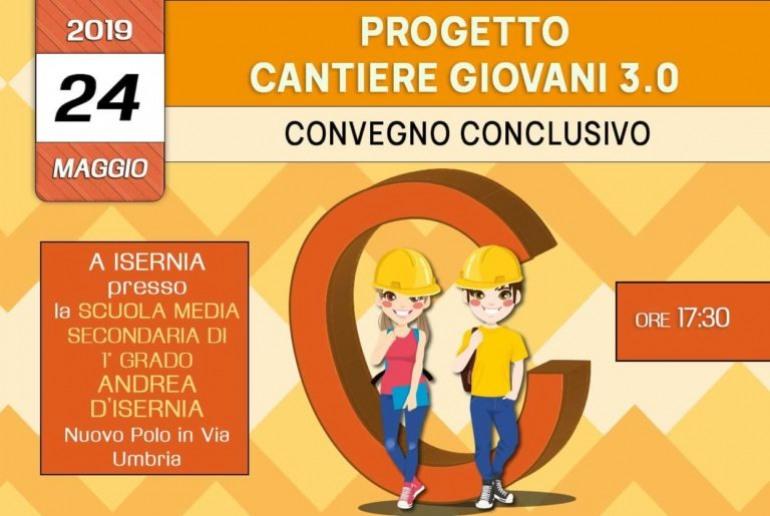 Isernia, 'progetto cantiere giovani 3.0': domani il convegno alla scuola 'Andrea d'Isernia'