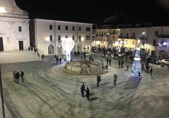 Piazza Plebiscito a Castel di Sangro, finalmente una vera Agorà nella Città
