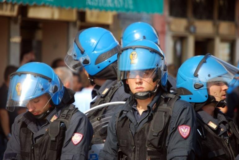 Biomasse, Arrivano i poliziotti antisommossa