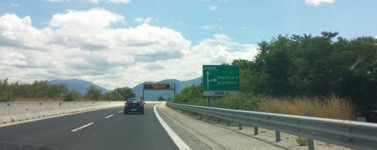 Autostrada dei Parchi, l'Alto Sangro dice No all'eliminazione del casello di Pratola Peligna