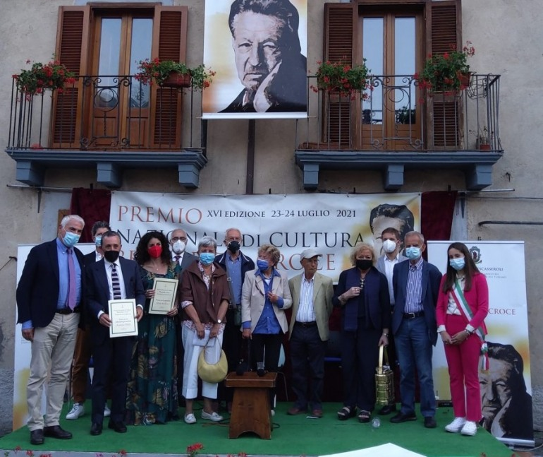 Paolo D'Angelo, Silvia Avallone e Antonio Polito vincono il Premio Nazionale Benedetto Croce