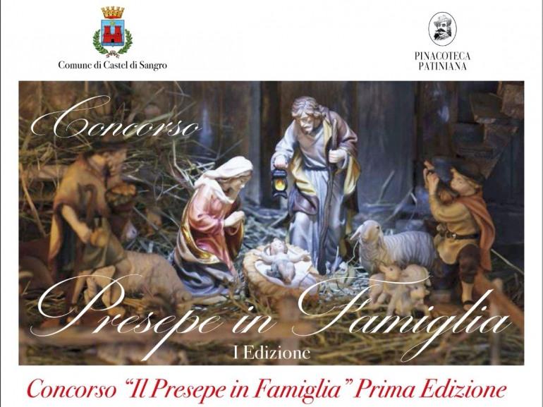 Castel di Sangro, Concorso il Presepe in Famiglia 1 edizione