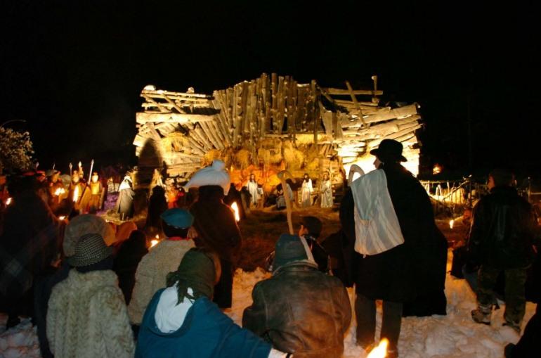 Presepe vivente Rivisondoli, l'8 dicembre la presentazione della Sacra Famiglia
