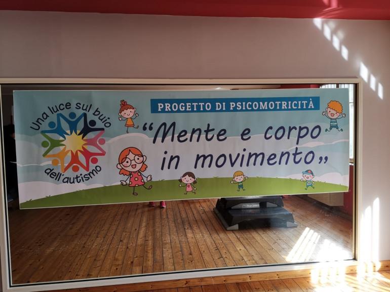 """Isernia,  bilancio positivo per il progetto di psicomotricità promosso dall'associazione """"Una luce sul buio dell'autismo"""""""