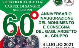 Madonna degli Eremiti a Castel di Sangro, si festeggia il 60° anniversario del Monumento ai Caduti