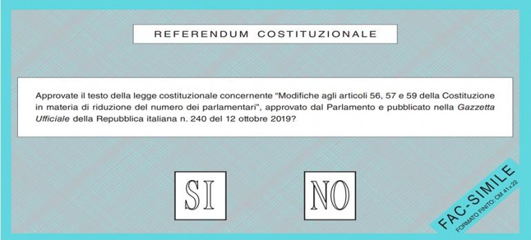 Referendum per il taglio dei parlamentari: i primi a votare sono gli emigrati
