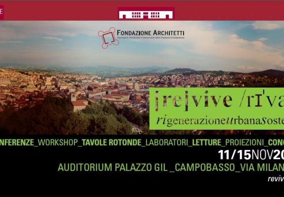 Revive 2014: cinque giorni di 'rigenerazione urbana sostenibile'
