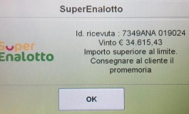 Molise fortunato, a San Pietro Avellana cliente della stazione Eni vince 35.000 euro al supernalotto