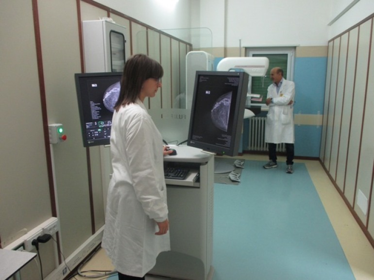Ospedale Castel di Sangro, iniziati screening al seno