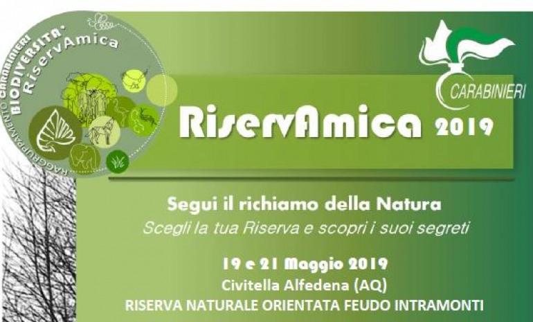 """Castel di Sangro, """"Riservamica"""": visite alle riserve naturali orientate """"monte Velino"""" e """"feudo Intramonti"""""""
