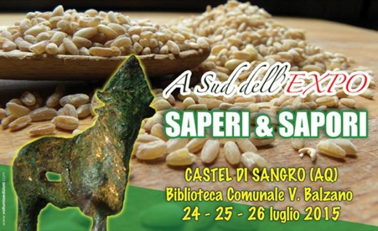 A sud dell'Expo: saperi e sapori. Convegno a Castel di Sangro dal 24 al 26 luglio