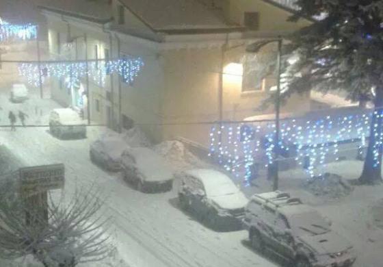 Torna la neve in Alto Sangro e Alto Molise