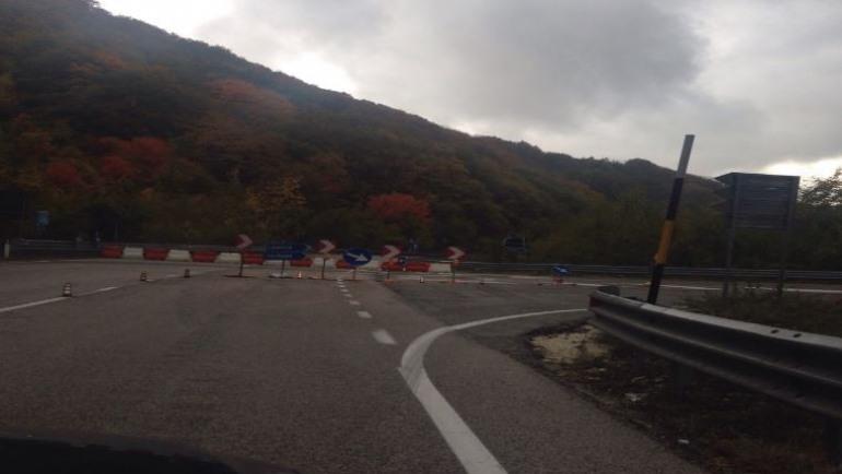 Viabilità, lavori in corso: deviazione sulla SS17 a Rocca Pia